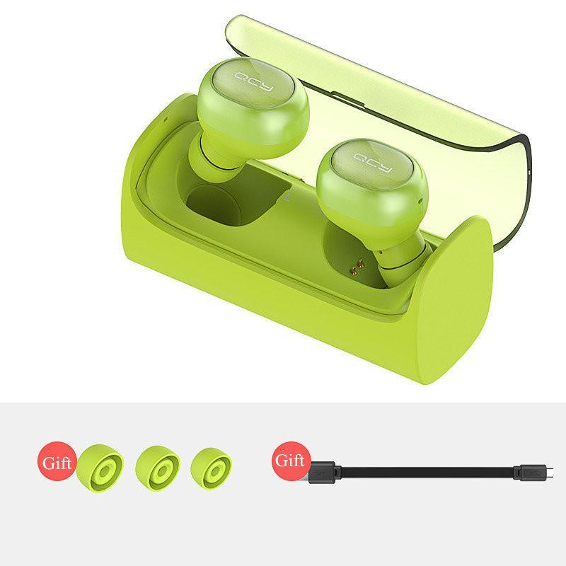 QCY Q29 Mini Wireless Bluetooth 4.1 Earphones With Charging Box-Universal Store London™