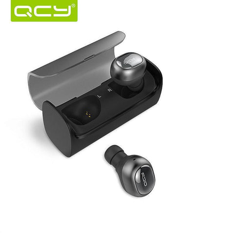 Image of QCY Q29 Mini Wireless Bluetooth 4.1 Earphones With Charging Box-Universal Store London™