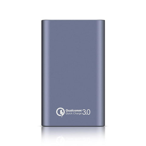 Qualcomm Quick Charge 3.0 Portable Charger, BlitzWolf 10000mAh Dual USB Compact Power Bank-Universal Store London™