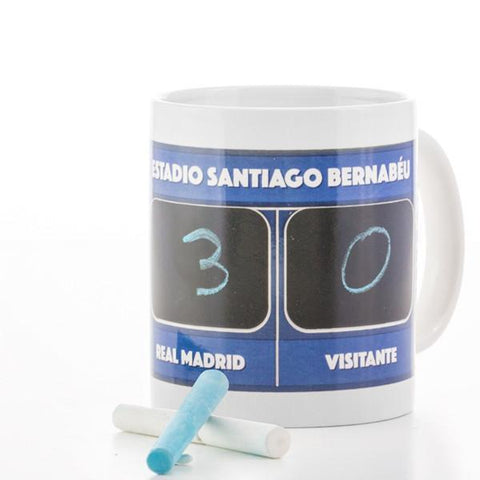 Image of Real Madrid C.F. Scoreboard Mug-Universal Store London™