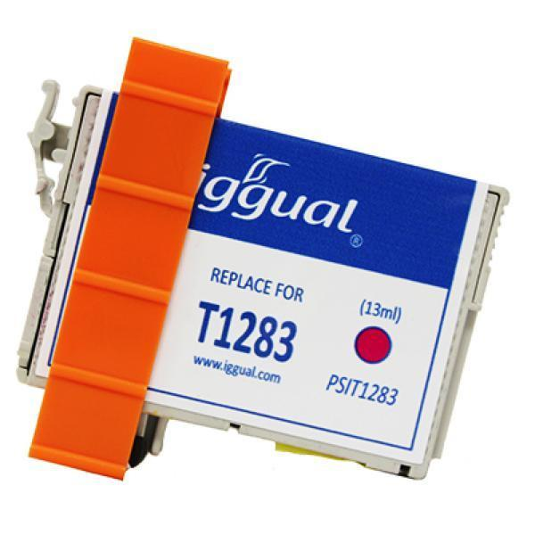 Recycled Ink Cartridge iggual Epson PSIT1283 Magenta-Universal Store London™