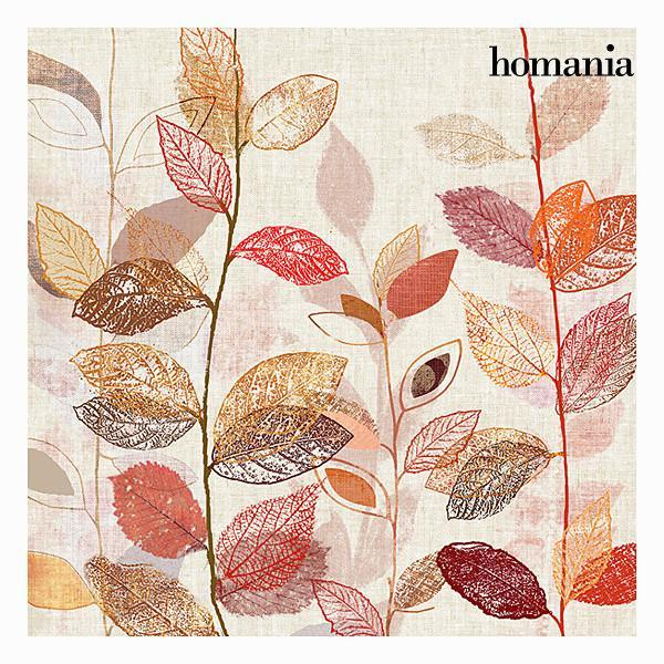 Red leaves canvas frame by Homania-Universal Store London™