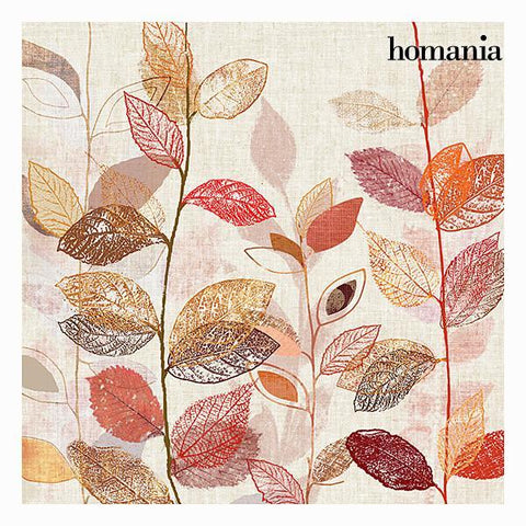 Image of Red leaves canvas frame by Homania-Universal Store London™