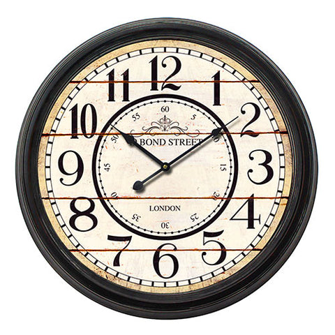 Image of Vintage Coconut London Station Wall Clock-Universal Store London™