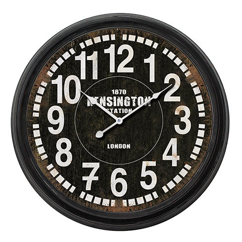 Vintage Coconut London Station Wall Clock-Universal Store London™