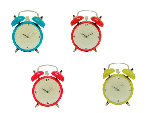 Image of Alarm Clock Glass Wall Clock-Universal Store London™