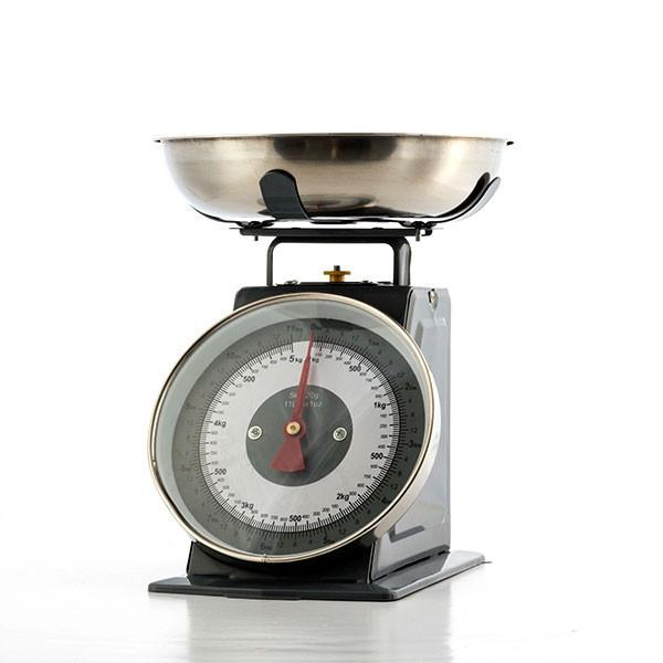 Retro Analogue Kitchen Scales with Bowl-Universal Store London™