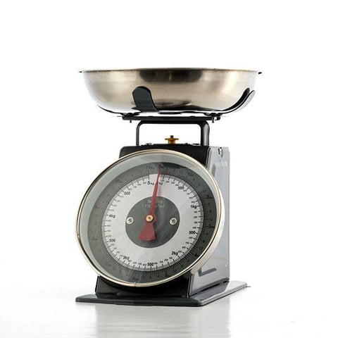 Image of Retro Analogue Kitchen Scales with Bowl-Universal Store London™