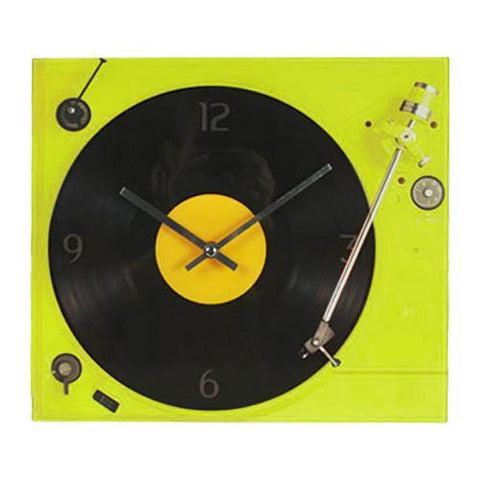 Image of Retro Record Player Wall Clock-Universal Store London™