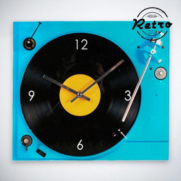 Retro Record Player Wall Clock-Universal Store London™