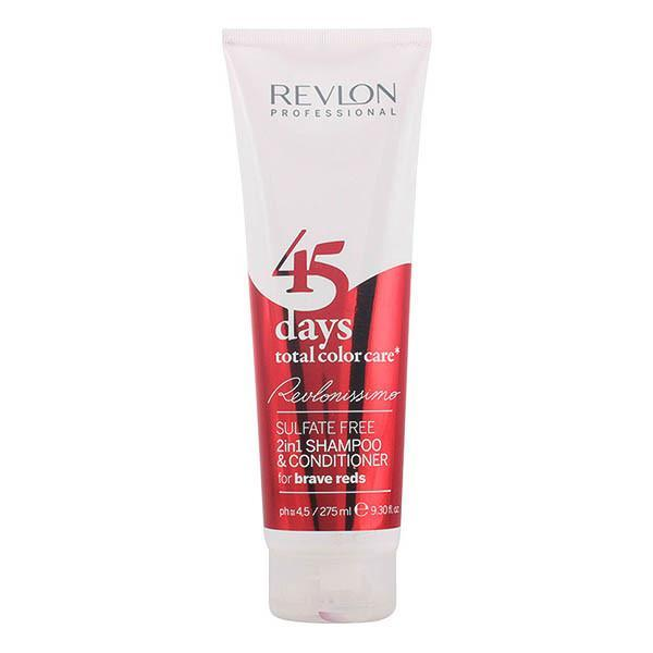 Revlon - 45 DAYS 2in1 shampoo & conditioner for brave reds 275 ml-Universal Store London™