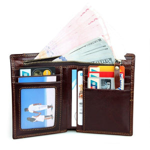 RFID Blocking Leather Wallet with Removable Insert-Universal Store London™
