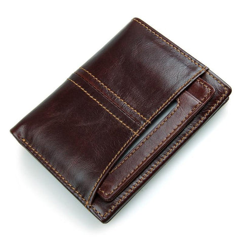 Image of RFID Blocking Leather Wallet with Removable Insert-Universal Store London™