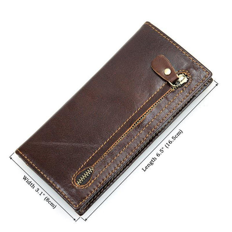 Image of RFID Protector Genuine Leather Wallet - USLR8122Q-Universal Store London™