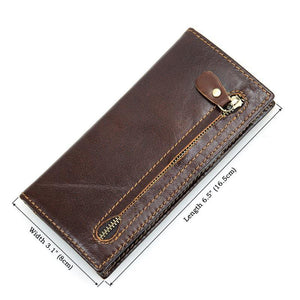 RFID Protector Genuine Leather Wallet - USLR8122Q-Universal Store London™