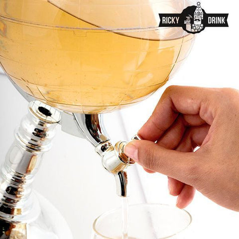 Image of Ricky Drink Globe Drink Dispenser-Universal Store London™