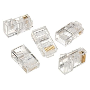 RJ45 Connector iggual IGG312148 50 pcs-Universal Store London™