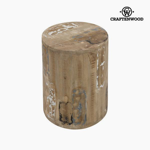 Roan stool cylinder by Craftenwood-Universal Store London™
