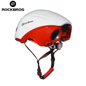 RockBros Jet-propelled Tail Ultralight Integrally-molded Helmet Women Men Cycling Riding Bicycle EPS Breathable Helmet