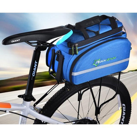 Image of ROCKBROS Multifunction Cycling Rack Bag Pannier Handbag Haversack-Universal Store London™