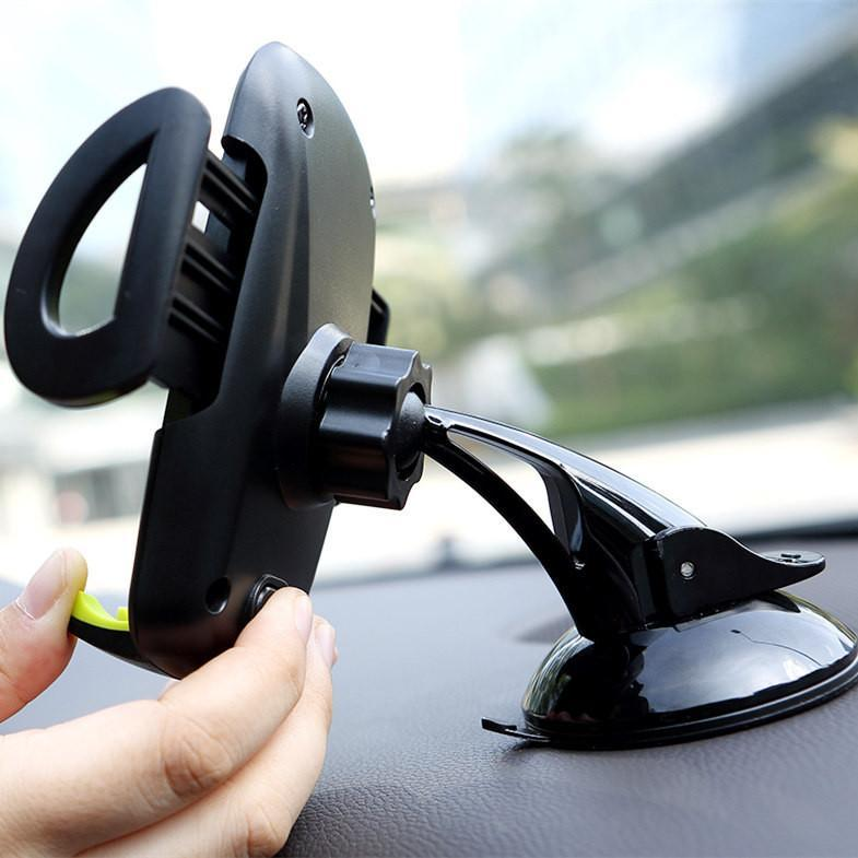 ROCK® Universal Car Windscreen 360° Phone Holder Mount for Various Smartphones-Universal Store London™