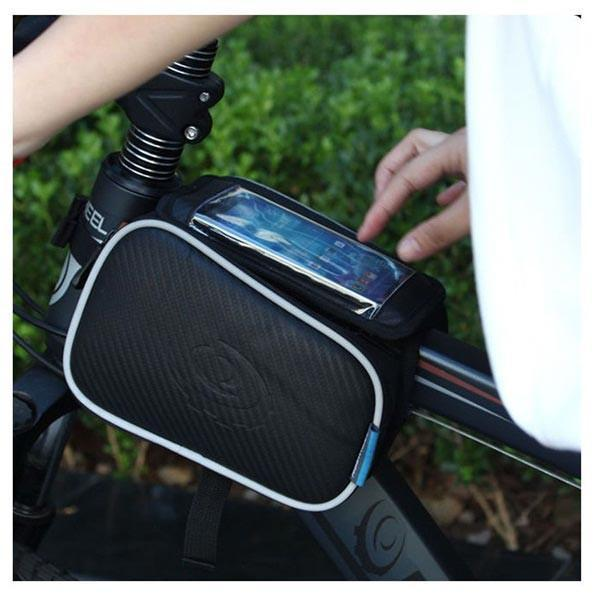 Roswheel 1.8L Bicycle Bike Pouch Pannier Front Tube Bag-Universal Store London™