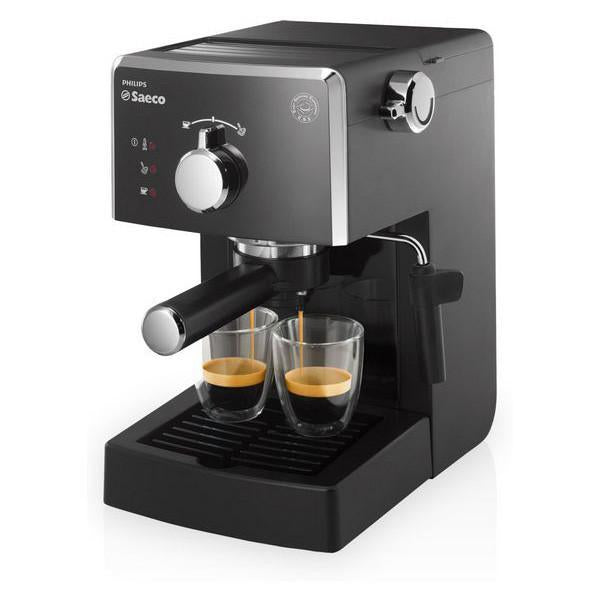 Saeco Poemia HD8423/11 Espresso machine 1.25L Black coffee maker-Universal Store London™