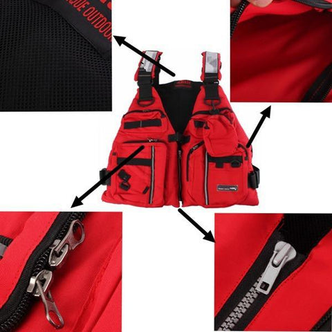 Image of Sailing Fishing Hunting Jacket Vest-Universal Store London™