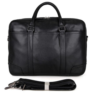 Salisbury Leather Briefcase - Black-Universal Store London™