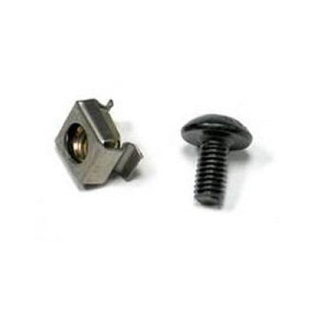 Screws + Nuts for Rack Cabinet WP WPN-AVA-SS50 50 pcs-Universal Store London™
