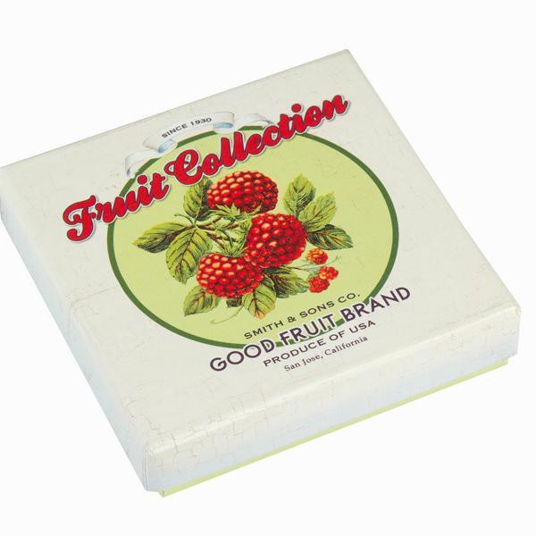 Set of 6 cork coasters fruits - Kitchen's Deco Collection by Bravissima Kitchen-Universal Store London™