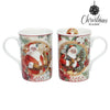 Set of Mugs Christmas Planet 4247 (2 pcs) Father christmas-Universal Store London™