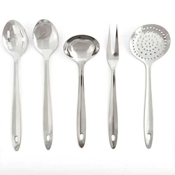 Set of Stainless Steel Kitchen Utensils-Universal Store London™