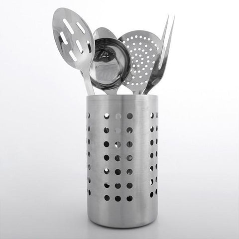 Image of Set of Stainless Steel Kitchen Utensils-Universal Store London™