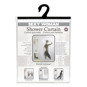 Sexy Woman Shower Curtain-Universal Store London™