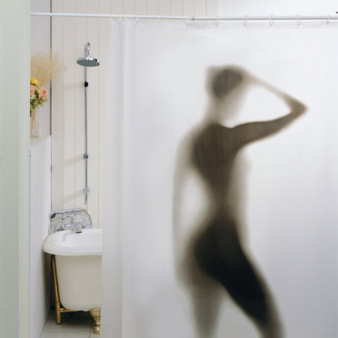 Image of Sexy Woman Shower Curtain-Universal Store London™
