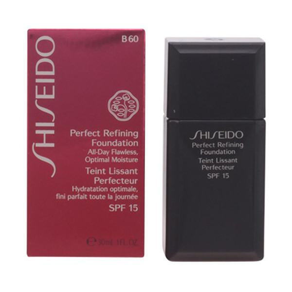 Shiseido - PERFECT REFINING foundation SPF15 B60 30 ml-Universal Store London™