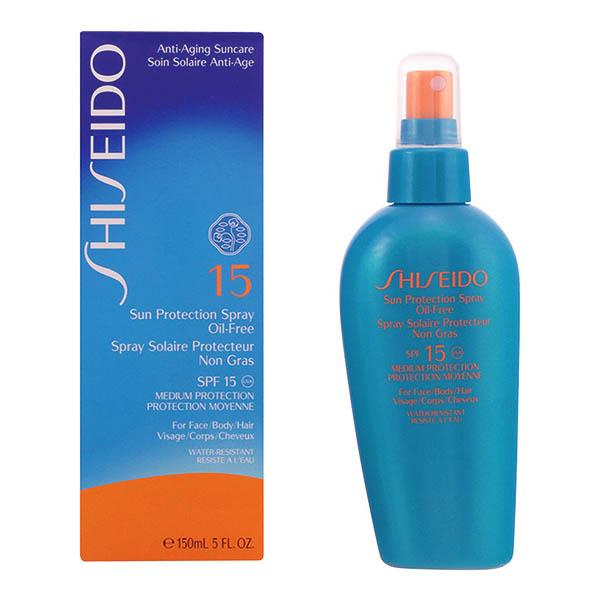 Shiseido - SUN PROTECTION oil-free SPF15 vaporizador 150 ml-Universal Store London™