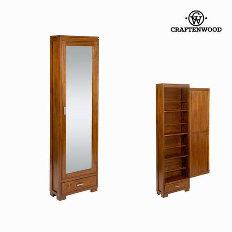 Shoe rack with mirror door - Serious Line Collection by Craftenwood-Universal Store London™