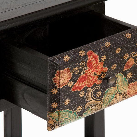 Side table with 1 drawer - Paradise Collection by Craften Wood-Universal Store London™