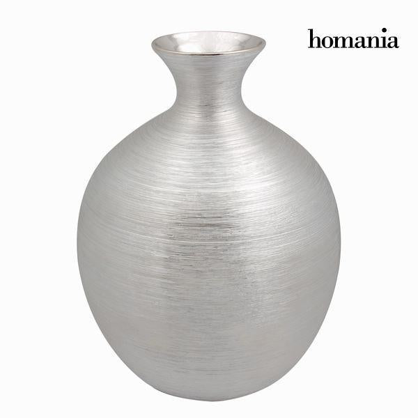 Silver ceramic vase - Jungle Collection by Homania-Universal Store London™