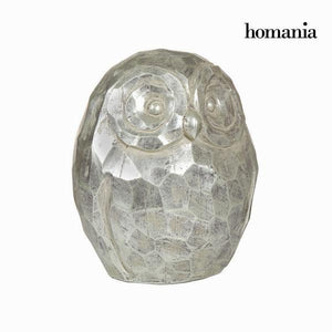 Silver owl figure by Homania-Universal Store London™