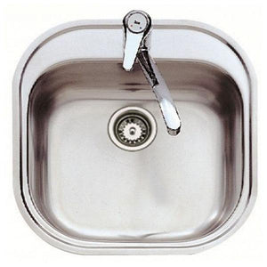 Sink with One Basin Teka 7007 STYLO 1C Stainless steel-Universal Store London™