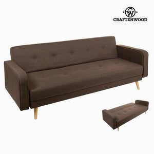 Sixty brown sofa bed by Craften Wood-Universal Store London™