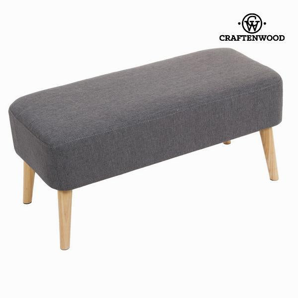 Sixty grey rectangular bench - Love Sixty Collection by Craften Wood-Universal Store London™