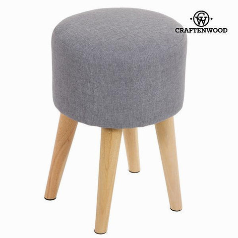 Image of Sixty round stool grey - Love Sixty Collection by Craften Wood-Universal Store London™