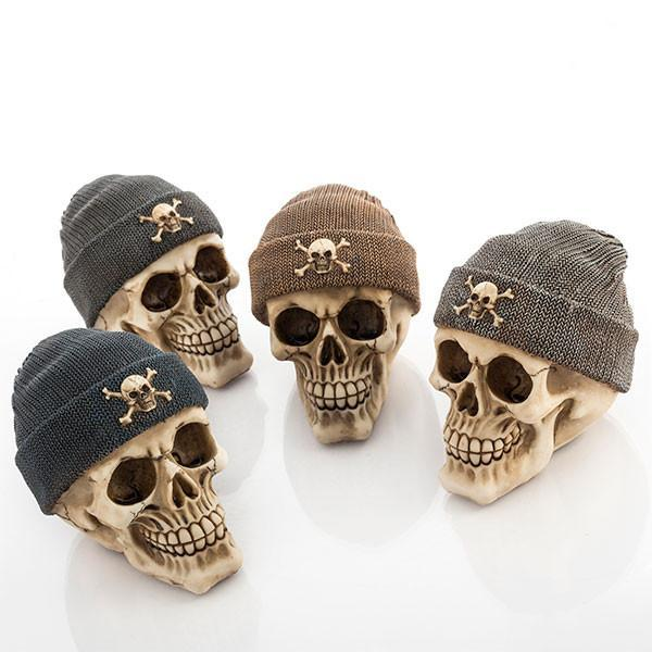Skull Money Box with Pirate Hat-Universal Store London™