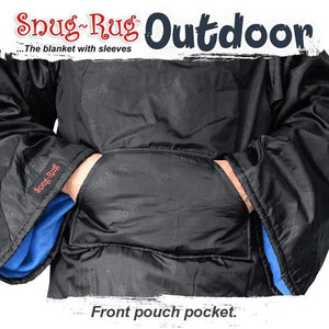 Snug-Rug Outdoor Blanket - Blue-Universal Store London™