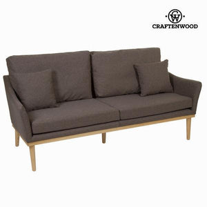 Sofa fabric covered 3 seats - Love Sixty Collection by Craften Wood-Universal Store London™
