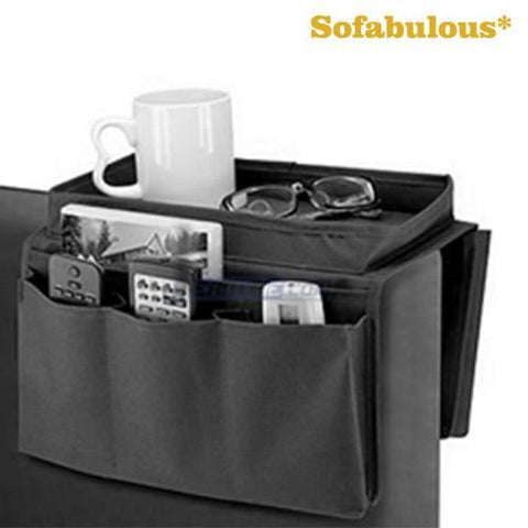 Image of Sofabulous Remote Control Holder with Tray-Universal Store London™